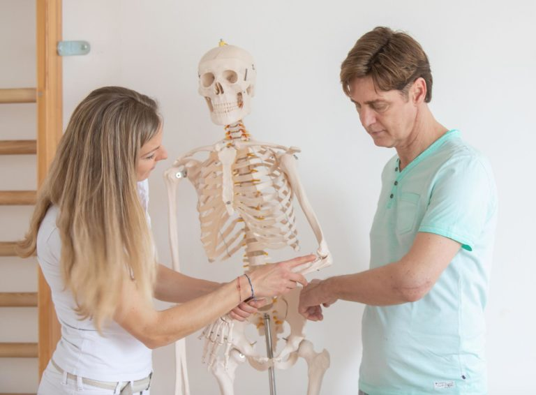 Physiotherapie zur Unfallrehabilitation